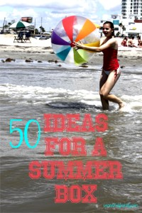 50 Ideas for Your Summer Box