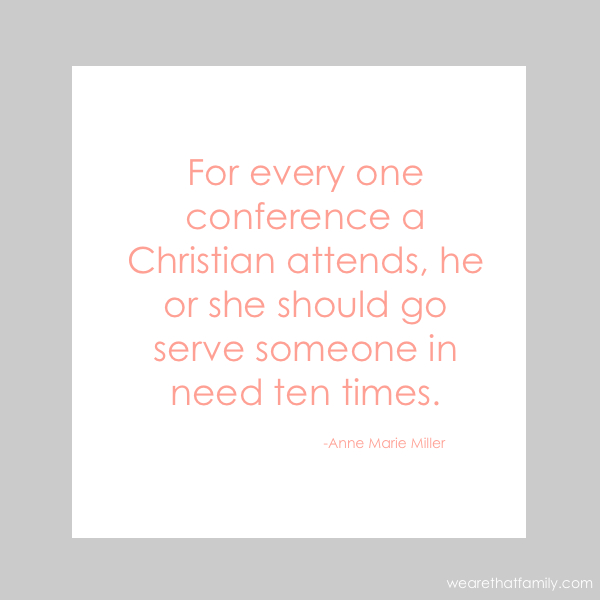 powerful quote about Christians and service