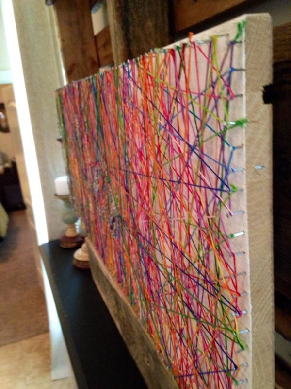 Wfmw Diy Inspiring String Art - Kristen Welch
