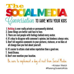 The Social Media Conversation To Have With Your Kids {Anniversary Giveaway}