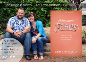 Marriage is Messy. Your Yes Matters. {Get My Book for $2.99}