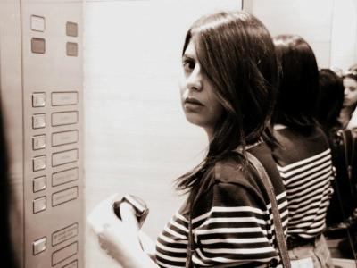 Sheena Roy black and white