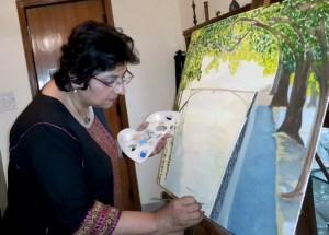 Kiran painting