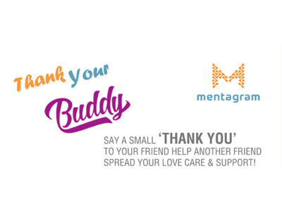 Mentagram 'Thank Your Buddy' Campaign | Dr Bhavi Mody