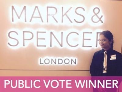 Roshni Marathe public vote winner