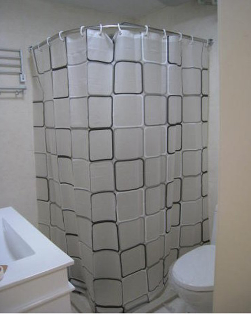 Corner Shower Curtain Ideas  Shower Curtains Ideas