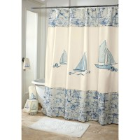 Nautical Bathroom Shower Curtains - Bathroom Design Ideas