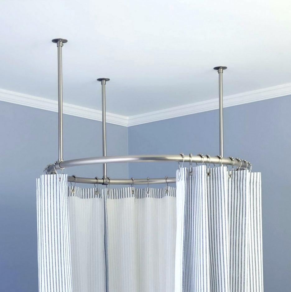 Croydex Shower Curtain Track System | www.myfamilyliving.com