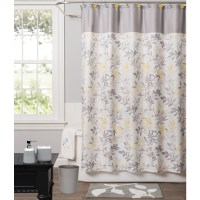 Blue Yellow And Brown Shower Curtains  Shower Curtains Ideas