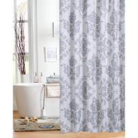Brown And Light Blue Shower Curtain O Curtains Design ...
