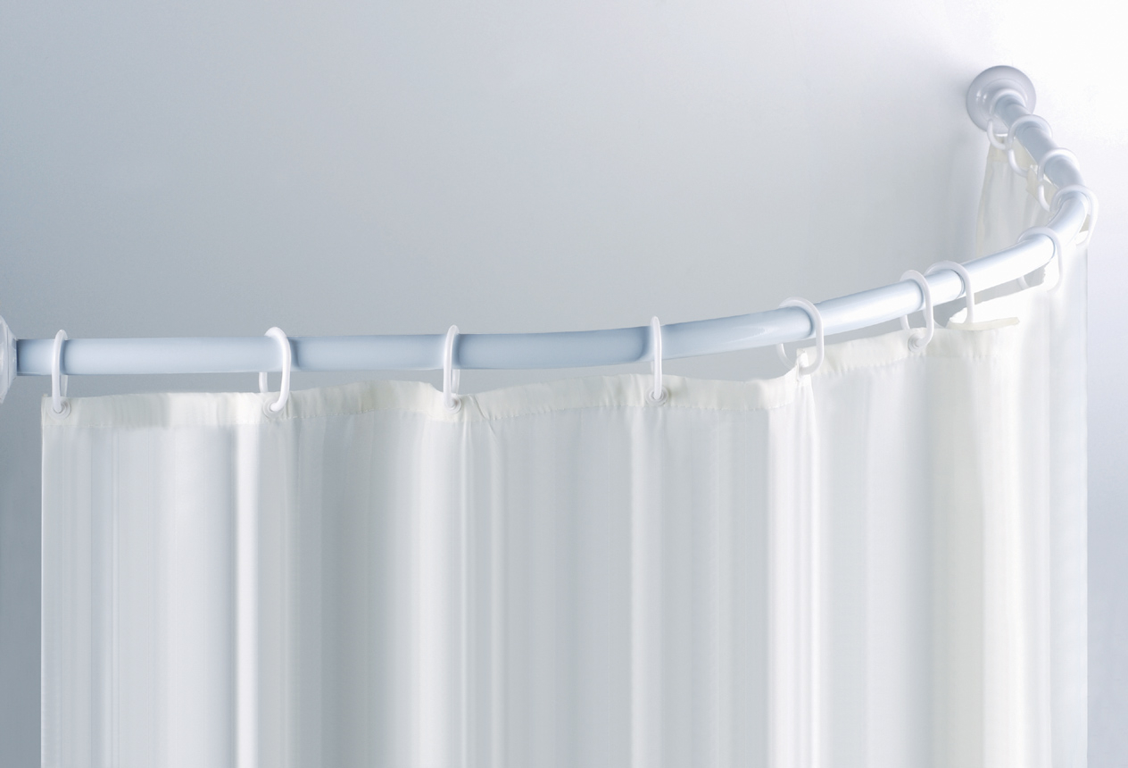 Corner Shower Curtain Rod No Screws Shower Curtains Ideas
