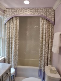 Drapery Pattern Testimonials Double Swag Fabric Shower ...