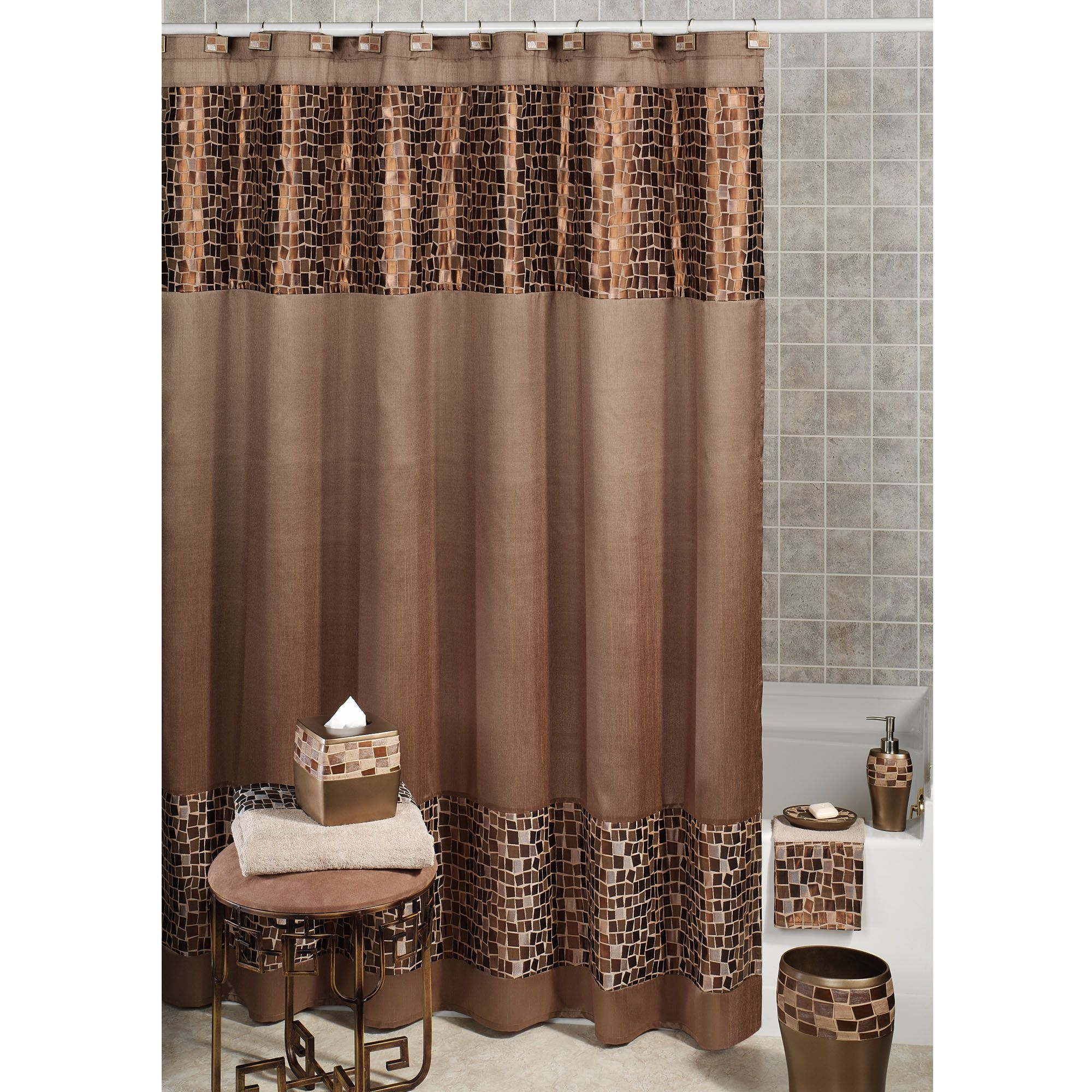 Bathroom Shower Sets Luxury Bathroom Shower Curtain Sets Shower Curtains Ideas