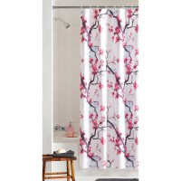 Bright Pink Shower Curtain Liner