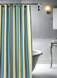 Escondido 72 Inch X Shower Curtain In Navy - Solid Light ...