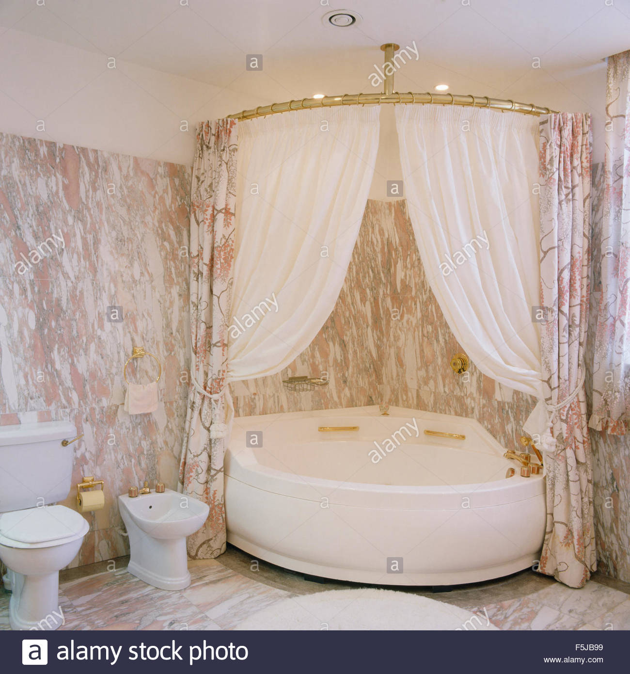 Corner Bathtub Shower Curtain  Shower Curtains Ideas