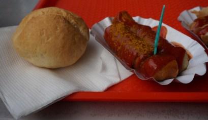 Vegan Curryworst bij Konnopke's Imbiß