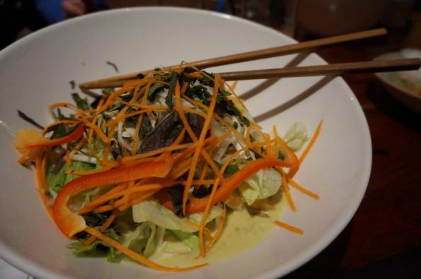 Heerlijke tofu curry bij Good Morning Vietnam