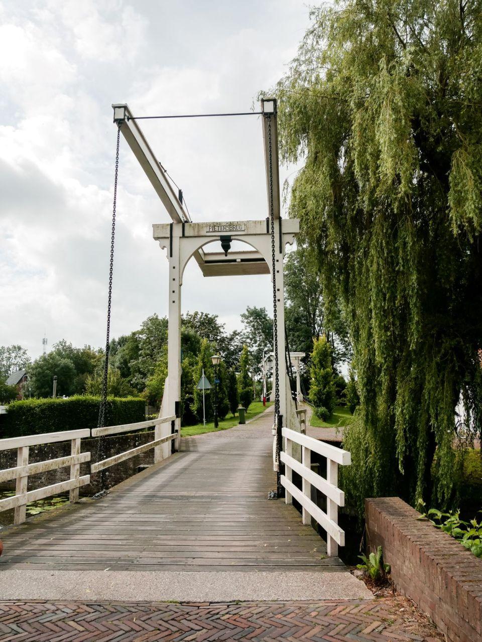 De Kwakelbrug in Edam