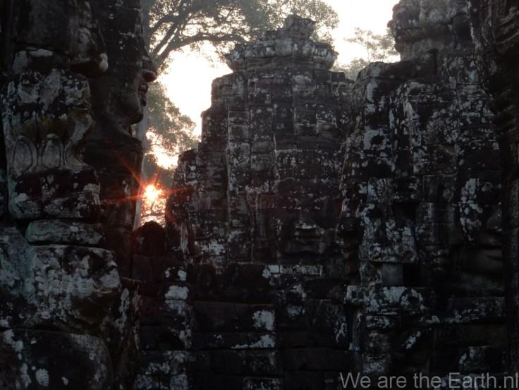 Zonsopgang in Angkor Thom