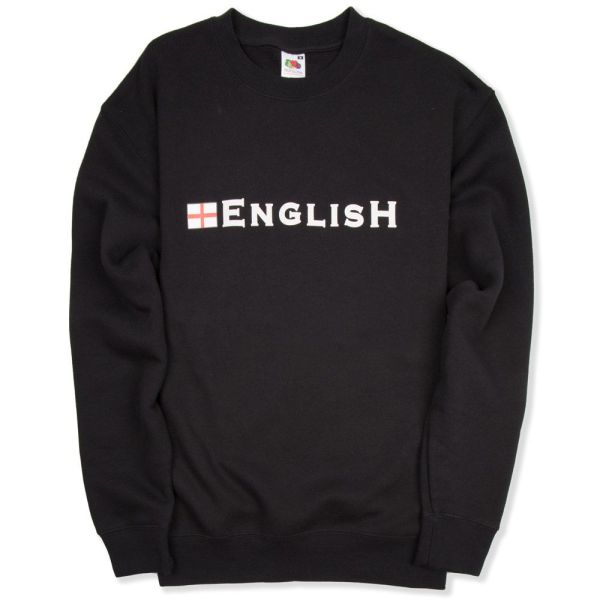 "England Sweatshirt With ""english"" Logo And St George Cross"