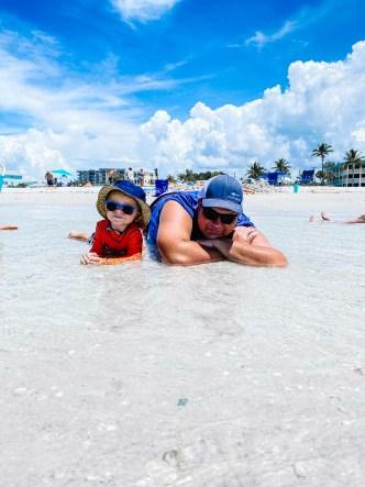 June Recap: my boys at the beach