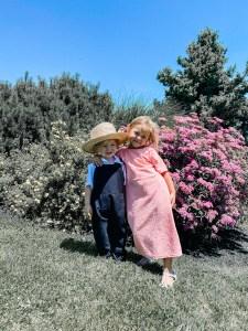 June Recap: Amish kids at the Amish Farm & House Lancaster County PA