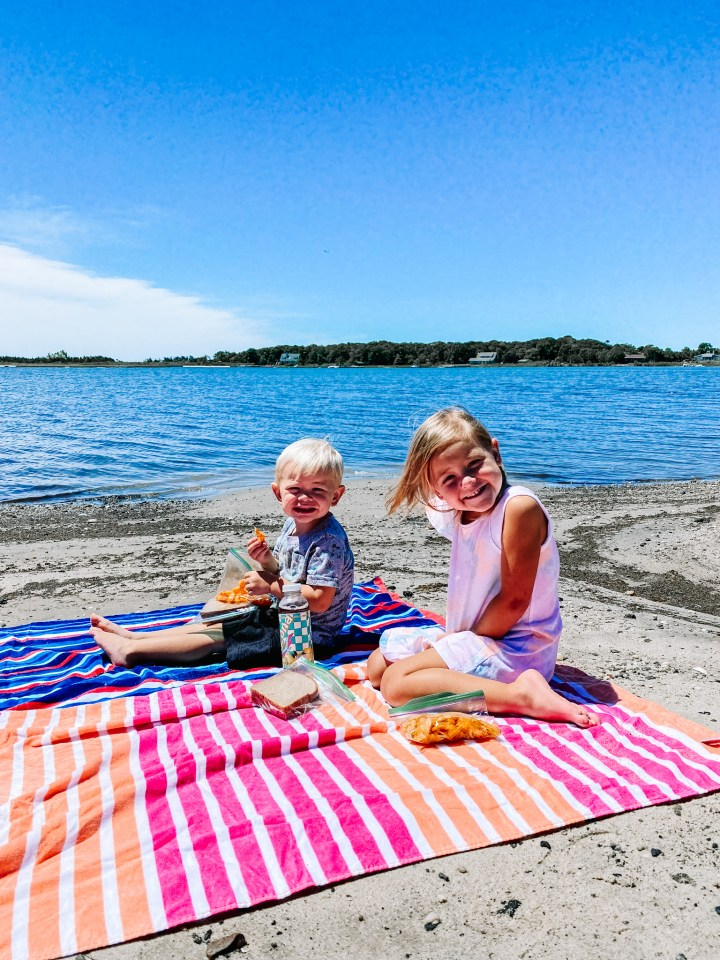 June Recap: Picnic lunch on the bay in East Moriches, New York