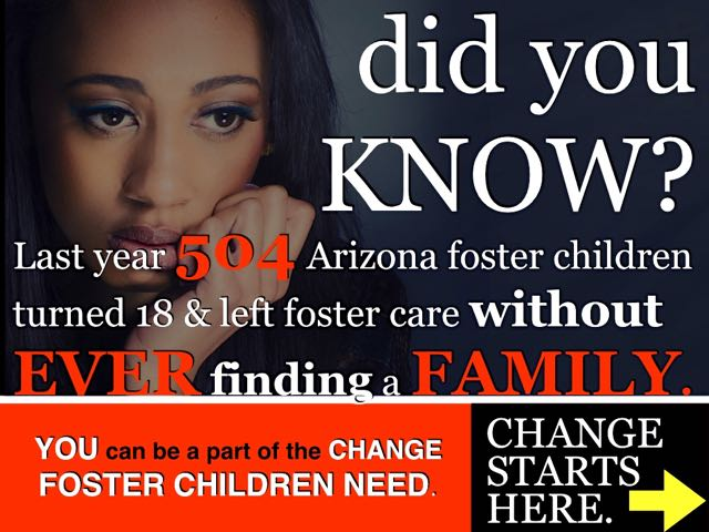 504 foster children left foster care without a family