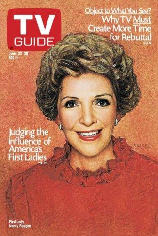 Nancy Reagan, 1985