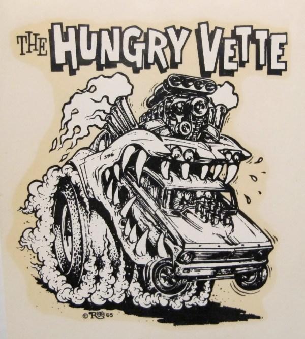 Ed Big Daddy Roth Monster Car Illustrations