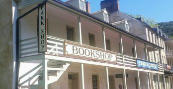 Harpers Ferry Park Bookshop.