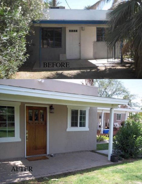 Guest House Before and After