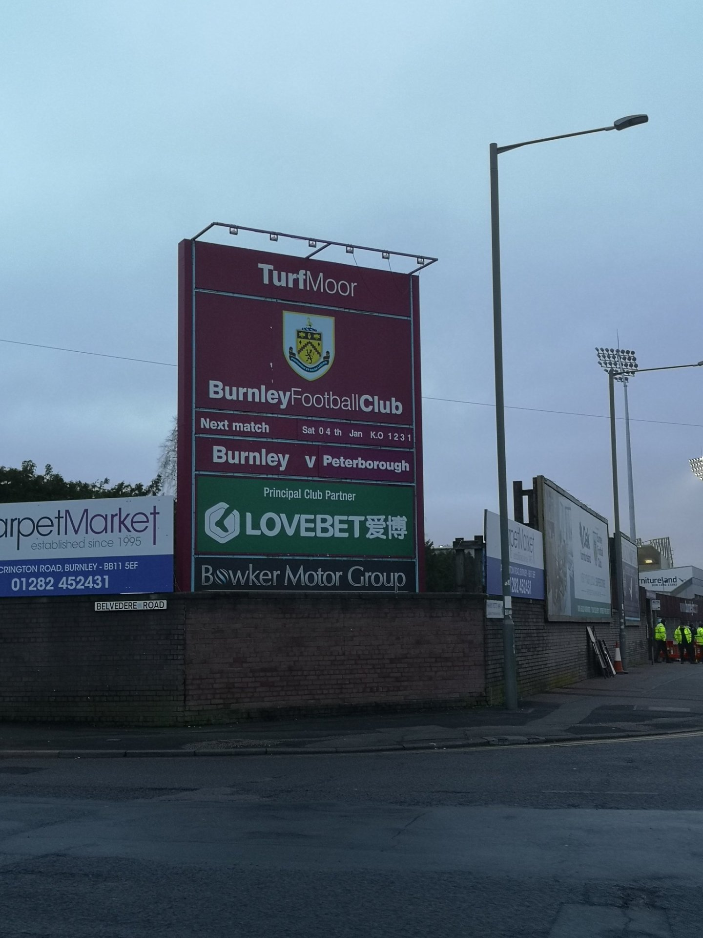 Peterborough United fans react to Burnley defeat