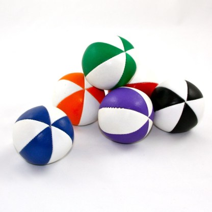 6 panel juggling ball
