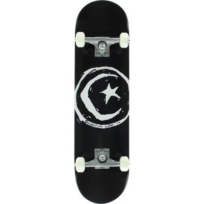 star & moon skateboard