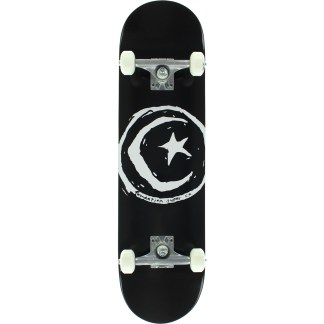 star & moon skateboard