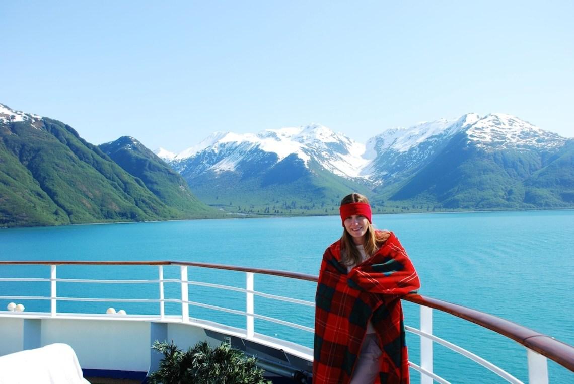 Cruising Through The Glaciers In Alaska Becky Van Dijk
