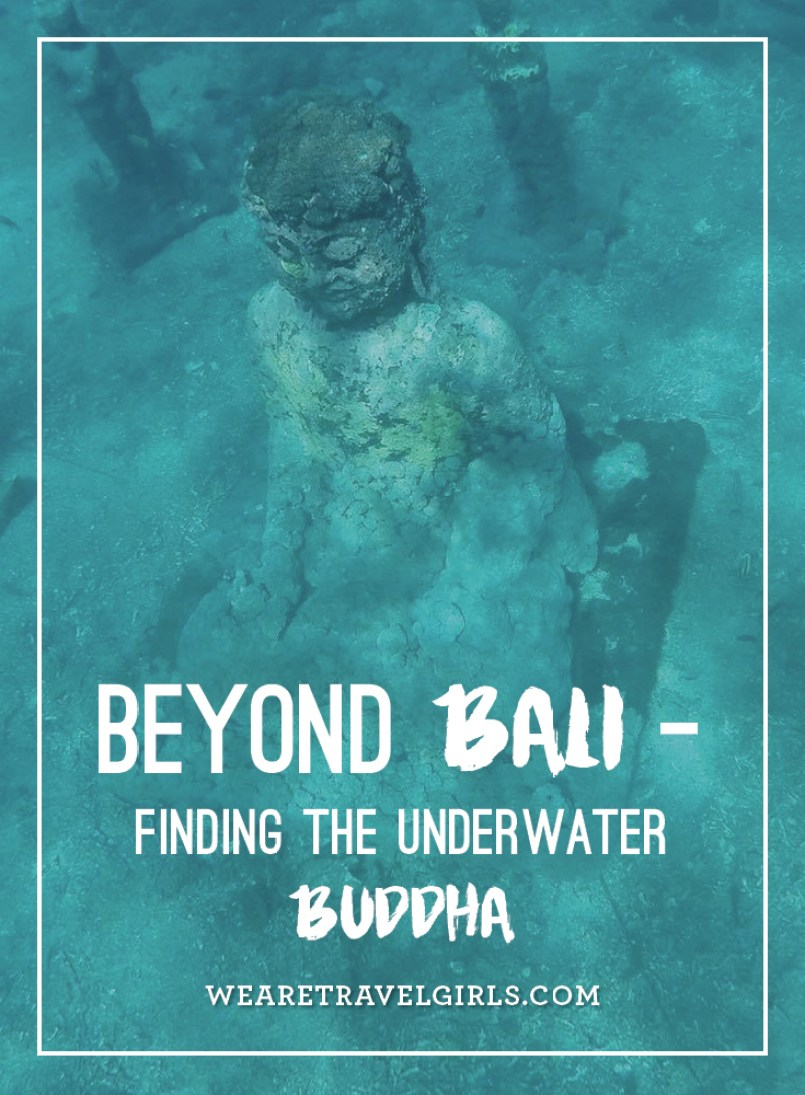 Underwater Budhha Nusa Cenigan Indonesia