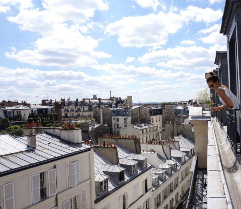 5 rooftop views in paris you won 39 t want to miss. Black Bedroom Furniture Sets. Home Design Ideas