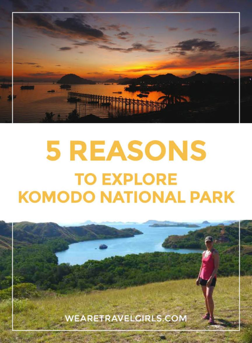 5 REASONS TO EXPLORE KOMODO NATIONAL PARK