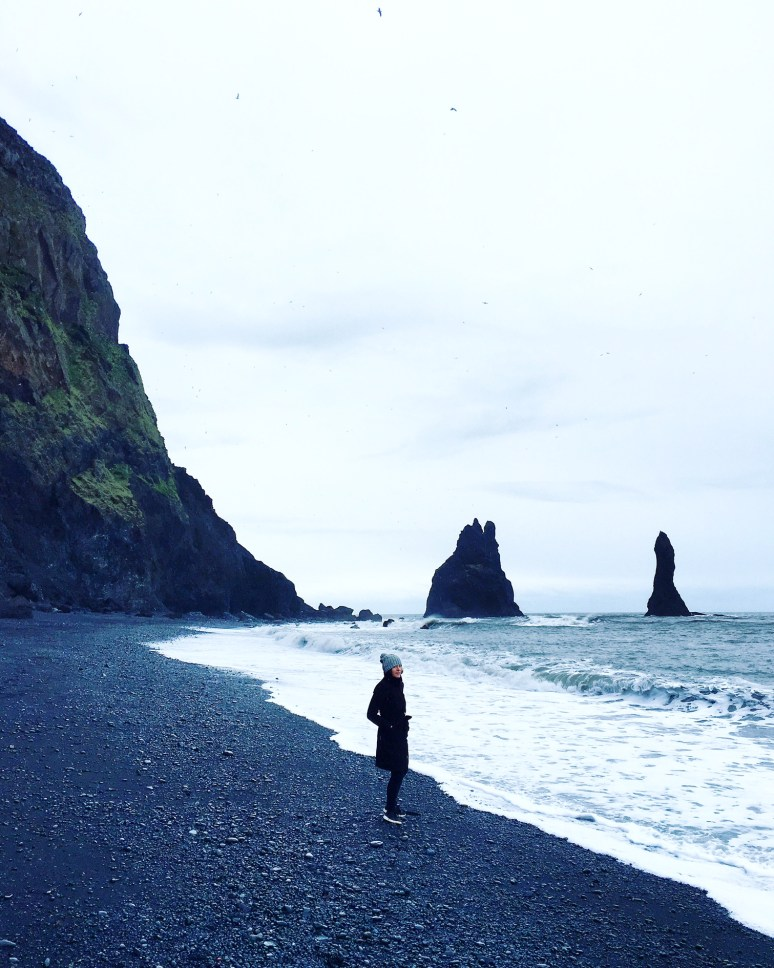 ICELAND- A 3 DAY ITINIERARY IN THE LAND OF FIRE AND ICE black-sand-beach-iceland