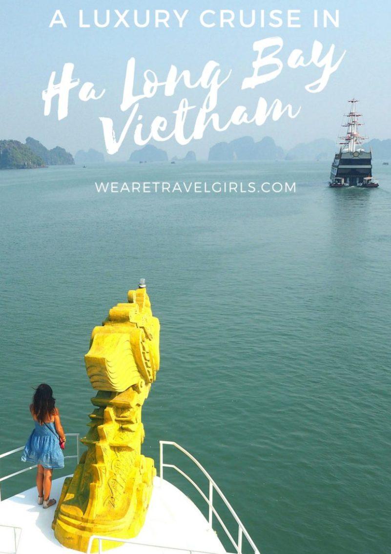 A LUXURY CRUISE IN HA LONG BAY, VIETNAM