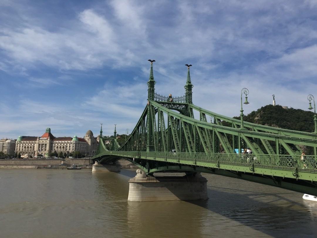 Bridge In Budapest, Hungary