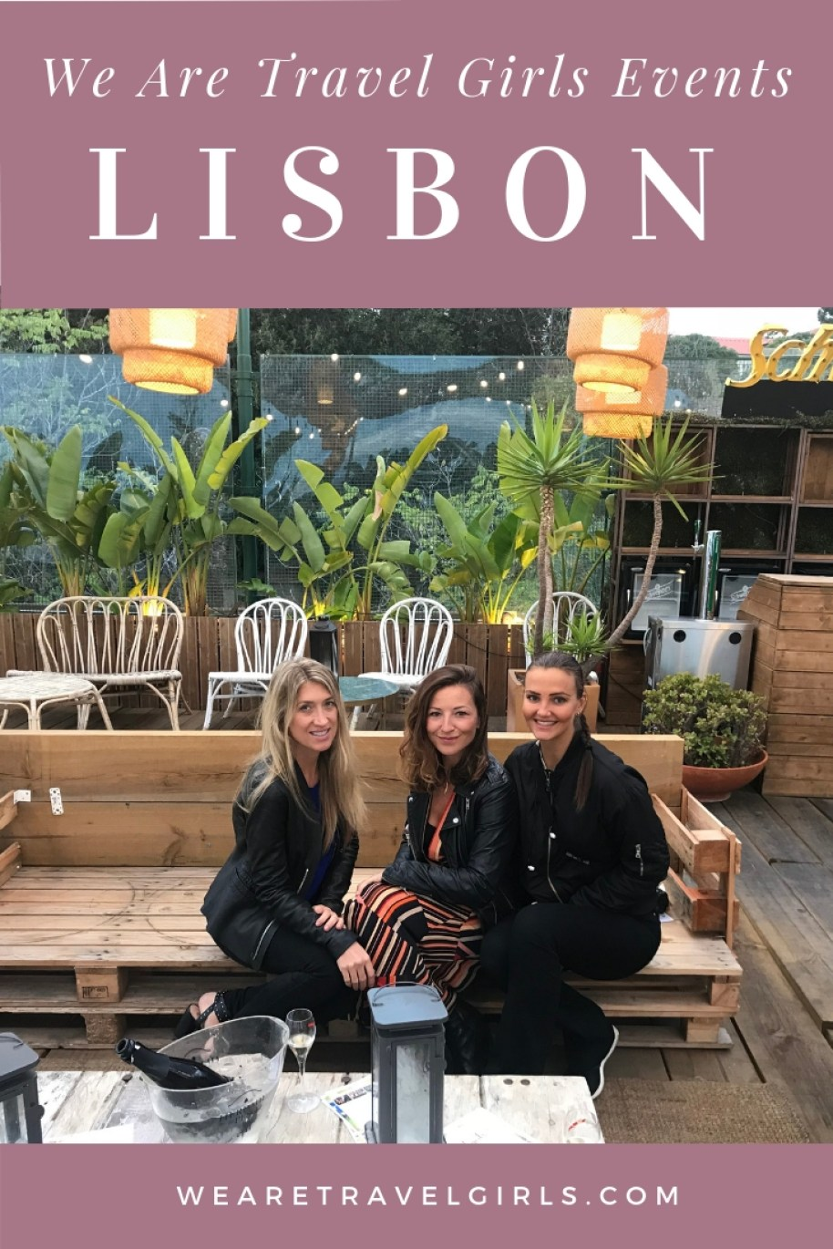 WE ARE TRAVEL GIRLS EVENTS - LISBON MEET UP 2018