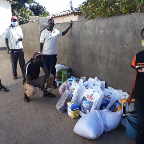 """Food For Work"" Programme and the ""Waste Management Group"" team up to improve the look and feel of Victoria Falls"