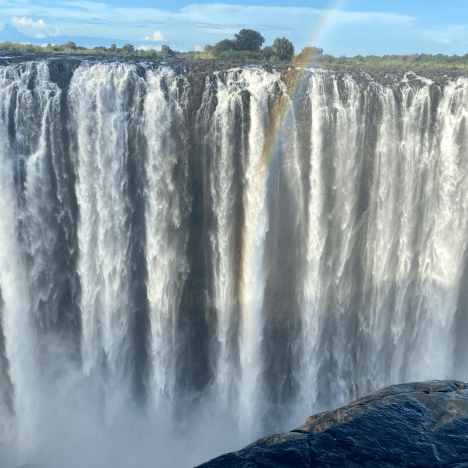 VIDEO: 'In absence of tourists, Victoria Falls residents come together to explore their own city'