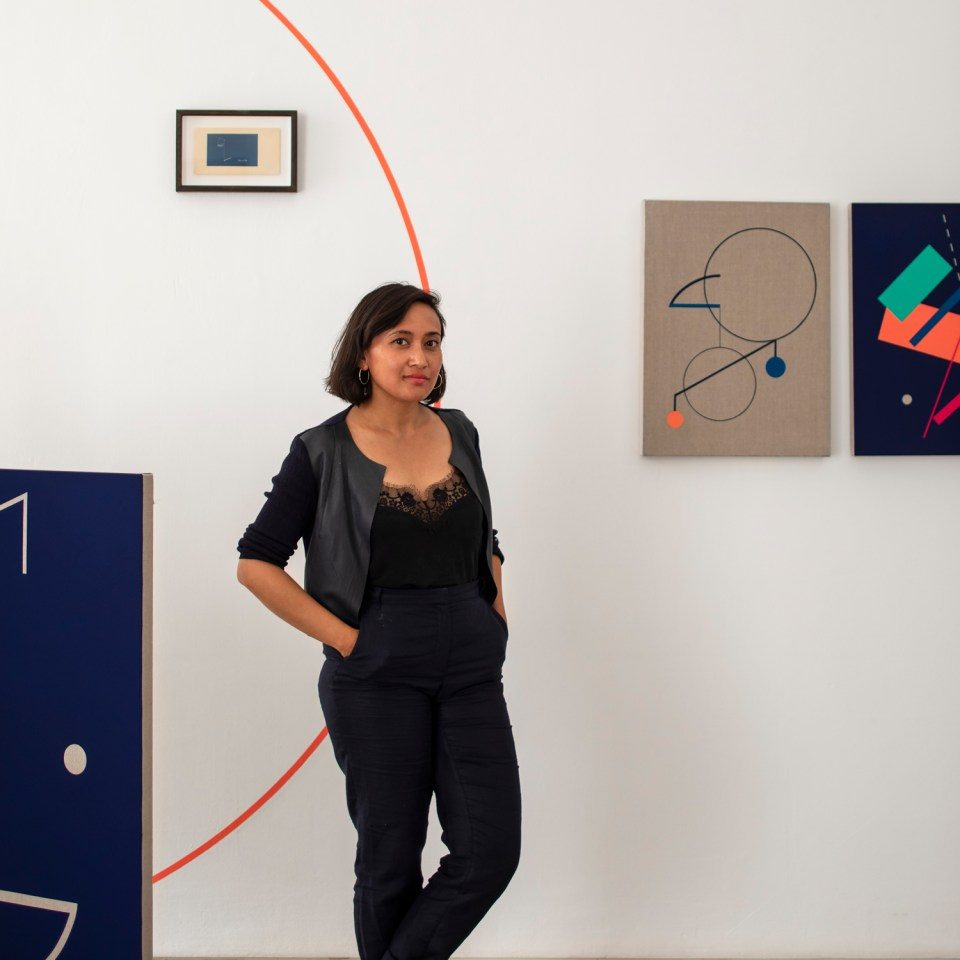 SINTA TANTRA: Between Painting and Architecture, Kristin Hjellegjerde London
