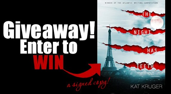 Enter To Win: THE NIGHT HAS TEETH by KAT KRUGER