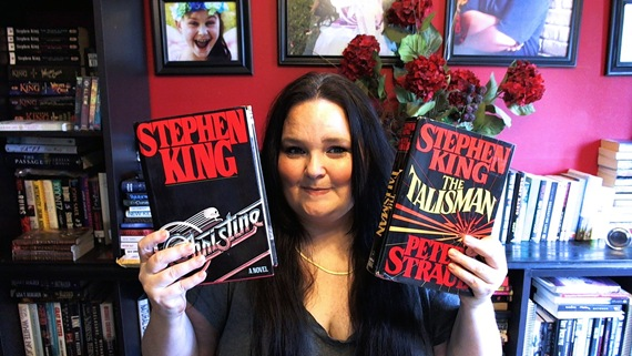 Bunny with more Stephen King books!